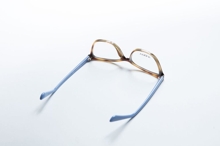upside down eyeglasses