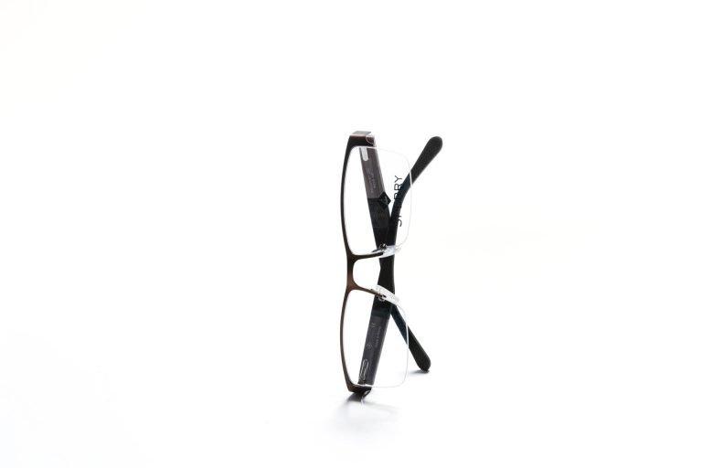 Men's Sperry eyeglasses, black plastic frames