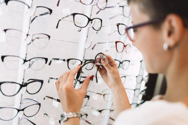 picking glasses